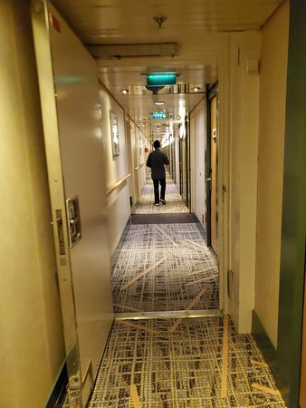 Celebrity Millennium: halls