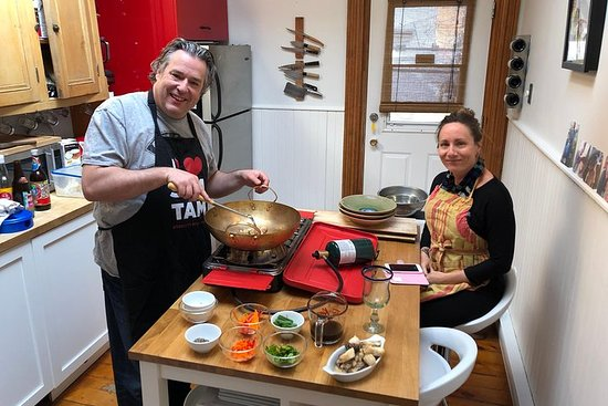 authentic thai private cooking Class