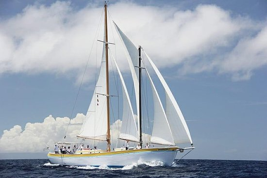 Sail a Traditional 73ft Schooner in the Caribbean Sea Photo