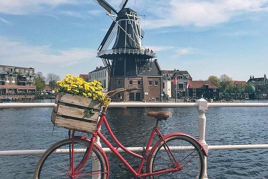 Bicicleta como un local en Haarlem