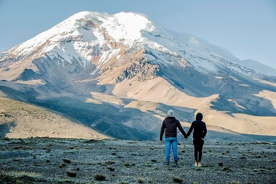 Chimborazo en Guano Full Day vanuit ...