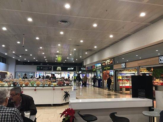 Shops in Barcelona station
