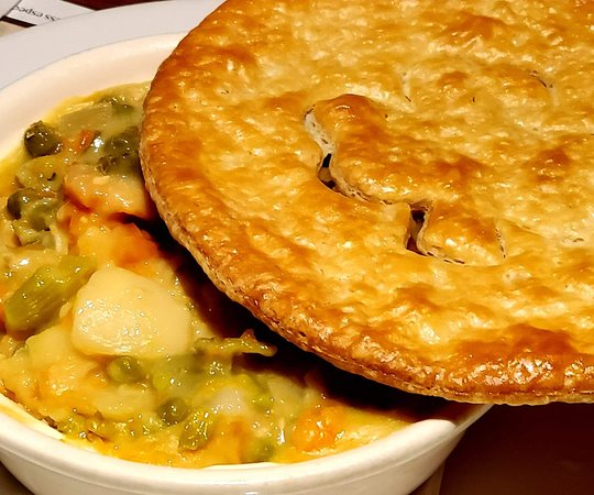 Melbourne, FL: Awesome and tasty!  Paddy's Chicken Pot Pie.
