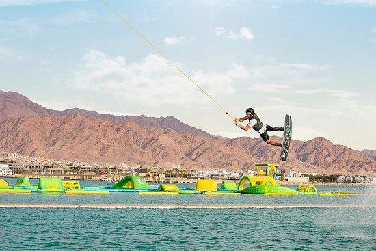Wakeboarding dans l'oasis d'Ayla