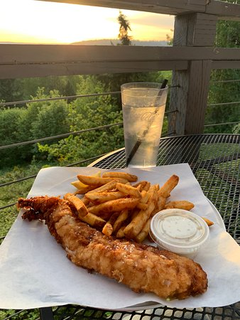 Sumner, WA: Fish & Chips at Sunset