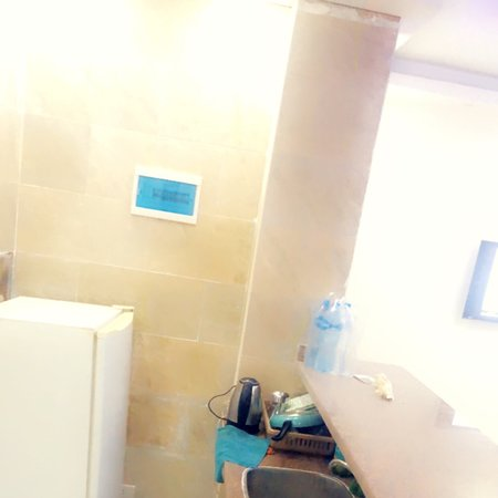 New and special apartment in hurghada so clean and tidy plus also the location it's in a very good area behind the Germany council which all the facilities is near by, very cheap and the price including breakfast as well