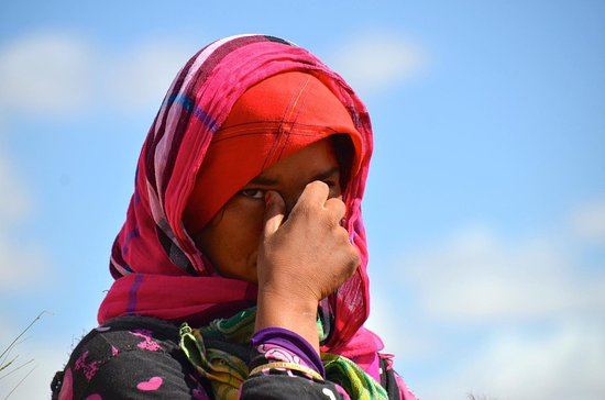 Marrákeš, Maroko: A Bedouin