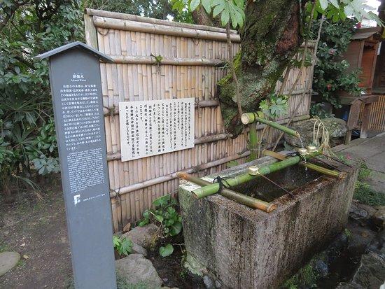 閼伽水(あかすい)の手水所
