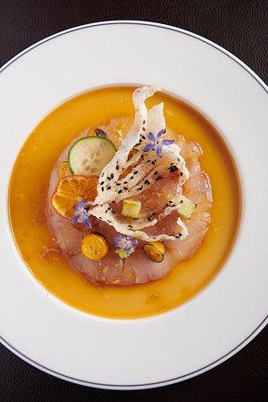 Kumquat Marinated Kingfish