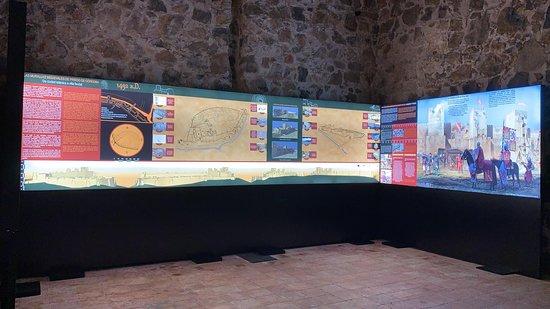 Instalación museográfica del Castillo de Priego de Córdoba