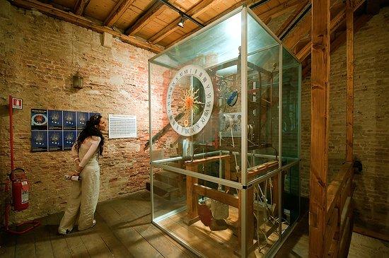 L'orologio antichissimo di Chioggia.