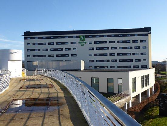 View from bridge to Winnersh Station