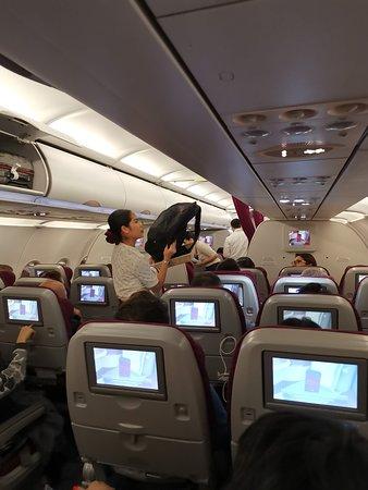 Qatar Airways: салон эконом класса