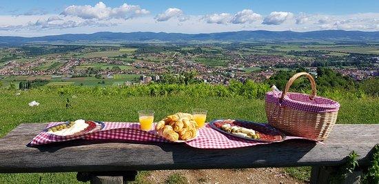 Pozega-Slavonia County, Croatia: Doručak s pogledom na prekrasnu Zlatnu dolinu? Zašto ne ;)  Posjetite našu stranicu: www.luks-pz.net i odaberite svoj vlastiti doživljaj Slavonije :)  Mi vas s nestrpljenjem iščekujemo :) Vaš Luks Bike Adventure :)  #luksbikeadventure #Požega #zlatnaslavonija #visitgoldenslavonia #bikeandwine #bikeadventure