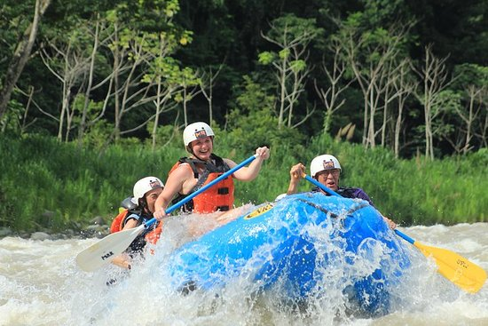 Whitewater Rafting Savegre River Class II & III + Waterfall Break