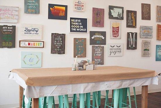 Pallet Painting Sign Workshop