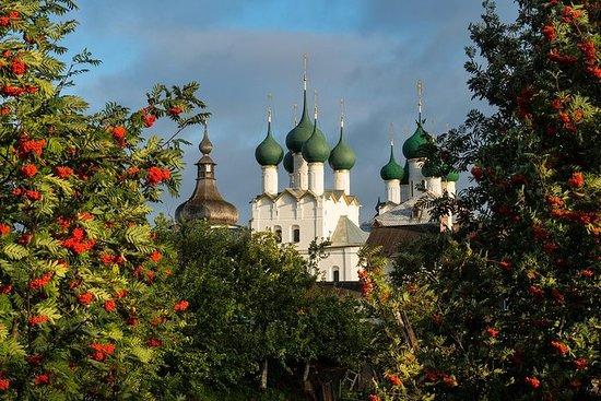 Explorez l'anneau d'or: la citadelle de Rostov