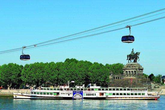 Crucero por el río Rin desde Coblenza...