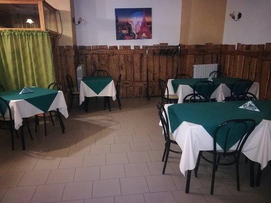 Sala piccola più intima e privata