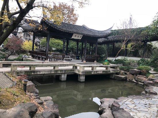 Haining, China: Pavilion