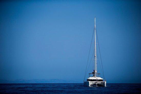 Belle journée en catamaran sur la...