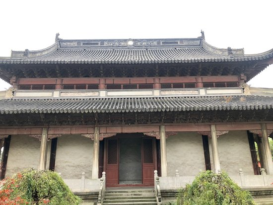 Хайнин, Китай: Jiaxing Haishen Temple (back)
