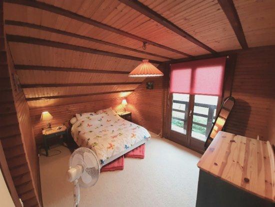 Bazoches-sur-le-Betz, France: Chalet entier avec jacuzzi + sauna + piscine à louer à 1h30 de Paris
