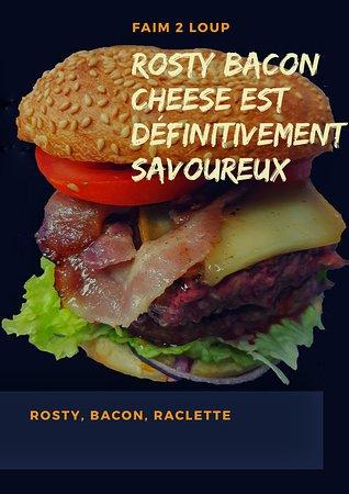 Rosty Bacon Cheese, définitivement savoureux !!! Miam