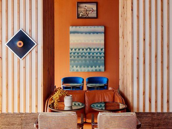 The Peacock Lobby Bar & Lounge.