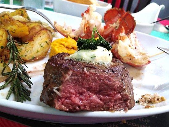 Patricks Belgian Restaurant: Wonderful steak