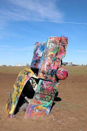 Cadillac Ranch - A Sunday's Artwork - 12-1-19
