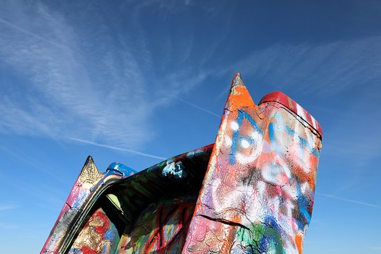 Cadillac Ranch - Fins Reaching for the Sky - 12-1-19