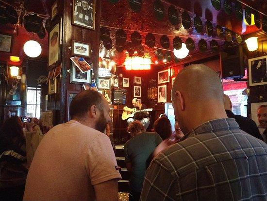 Inside the Temple Bar Dublin