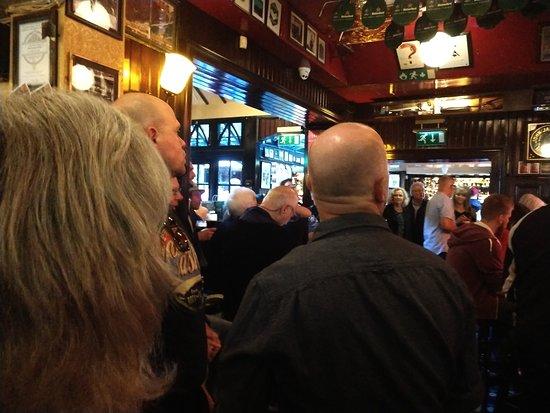 Inside the Temple Bar Dublin City Ireland