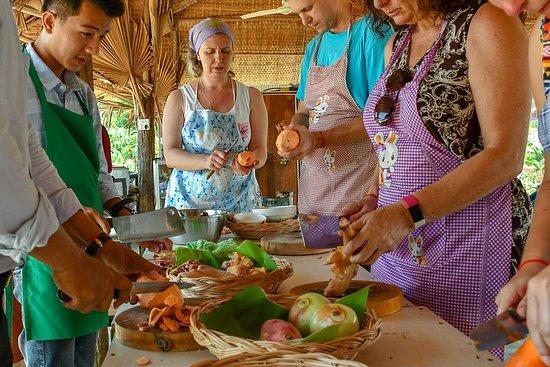 Cours de cuisine familiaux locaux