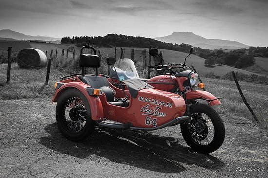 Around the Rhune by Sidecar