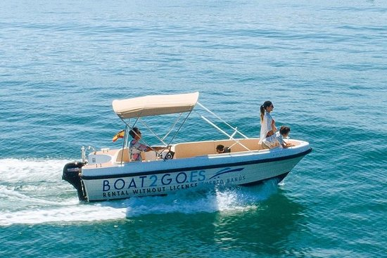 Boat to Rent without License