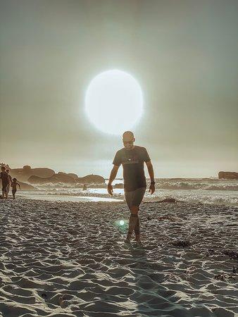Sunset at Clifton Beach - Cape Town