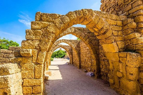 Tour inolvidable a Caesarea, Haifa...