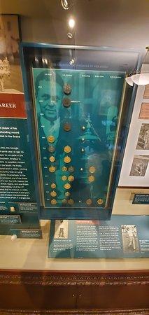 Far Hills, NJ: The major medals of Bobby Jones