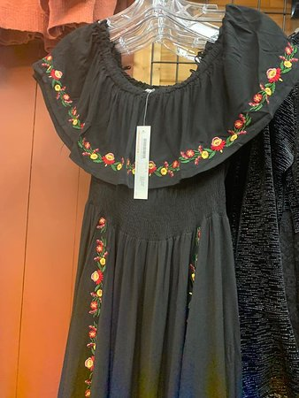 embroidered off the shoulder maxi dress