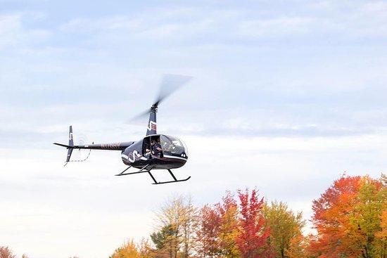 Recorrido en helicóptero por el Valle del Hudson durante la caída de...