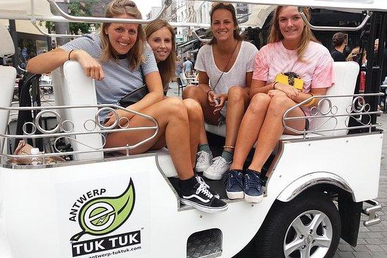 TukTuk Tour through historic Antwerp 2.5h 사진