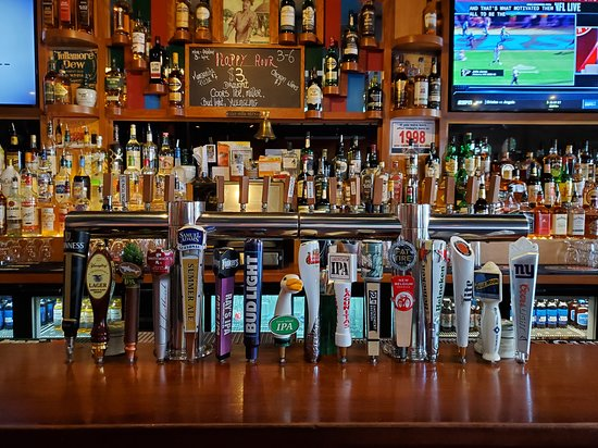 16 Beers available on draft