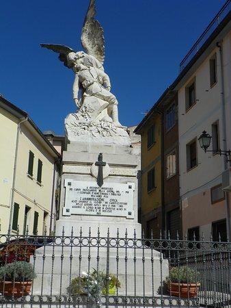 City center in Sant Angelo del Pesco.