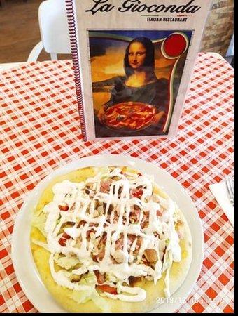Pizza Cesar (Cesar Ensalda su Focaccia )