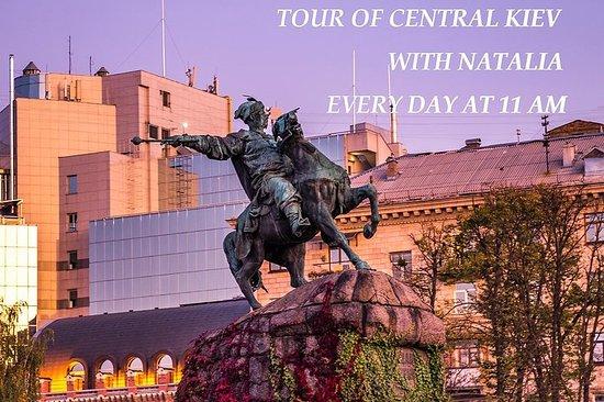 Ausflug von zentralem Kiew mit Natalia