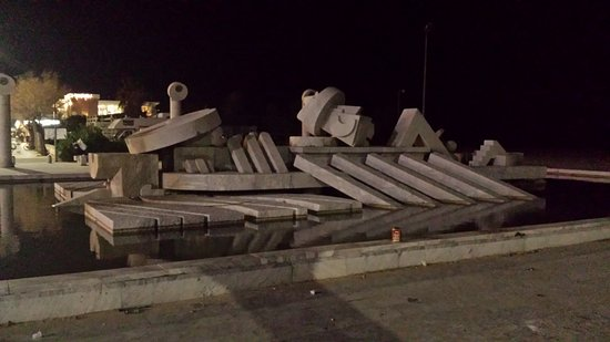 Pescara, Italia: Visita notturna