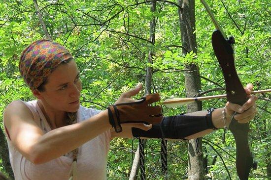 冒險射箭公園原始弓射擊每個人!