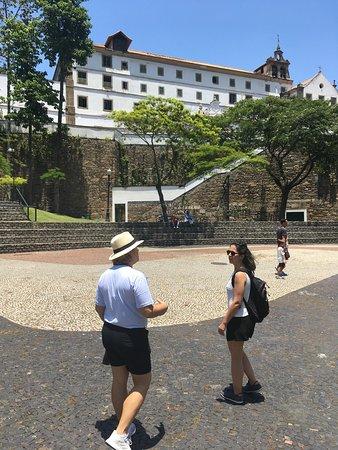 Visita ao Convento de Santo Antônio.